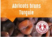 Abricots bruns des plateaux de Malatya en Turquie