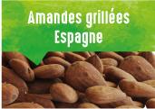 Amandes grillées de la vallée de Pinoso en Espagne