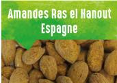 Amandes Ras El Hanout