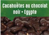 Cacahuètes au chocolat noir