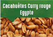 Cacahuètes au curry rouge