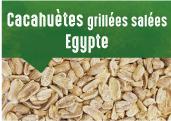 Cacahuètes grillées salées d'Egypte