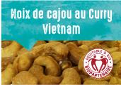 Noix de cajou au curry des provinces de Dong Nai et Binh Phuoc au Vietnam