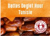 Dattes Deglet Nour de l'oasis de Blidet en Tunisie