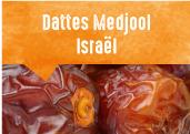 Dattes Medjool de Samar et Neot Semadar dans le sud Israëlien
