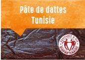 Pâte de dattes de l'oasis de Blidet en Tunisie