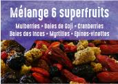 Mélange 6 Superfruits