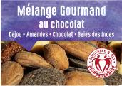 Mélange gourmand au chocolat