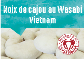 Noix de cajou au wasabi