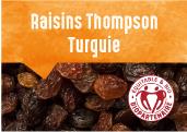 Raisins Thompson de la plaine de Manisa en Turquie