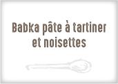 Babka pâte à tartiner et noisettes