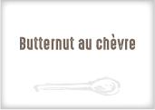 Butternut au fromage de chèvre