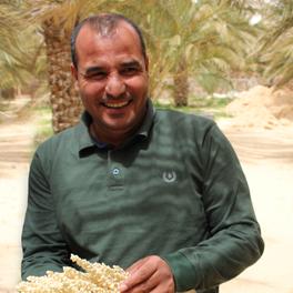 Saad, agronome spécialiste de la datte en Tunisie
